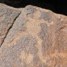 Indiginous cave paintings argentina