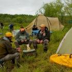 Kamchatka Wilderness Float Campsite