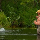 Mike Michelak, Owner of the Fly Shop, comes up every year
