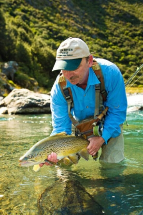 New Zealand Early Season Small Stream Fishing