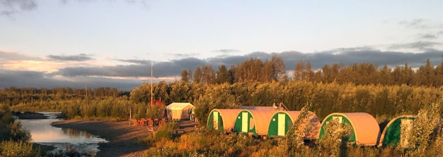 Aniak Upstream Tent Camp